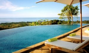 Swimming pool with a view Bali