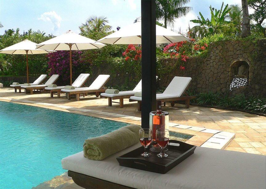 Infinity pool Villa Bali Breeze
