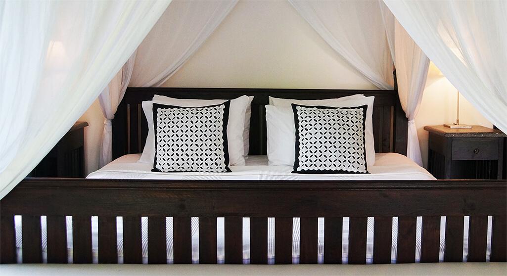 Master bedroom of Villa Bali Breeze in Lovina